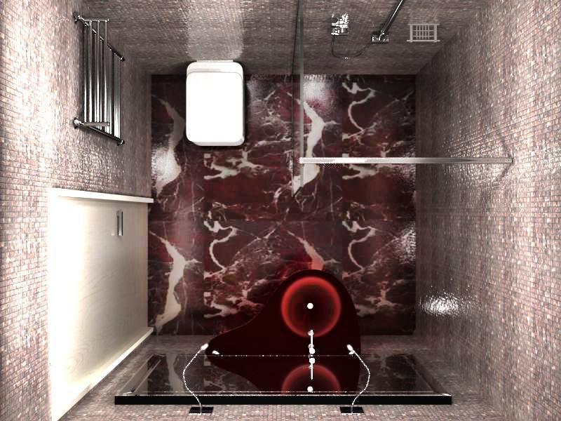 туалет в стиле арт-деко в интерьере дизайн