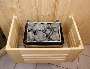 электрическая печь для бани и сауны фото деревянный экран