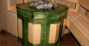 электрическая печь для сауны и бани фото керамика