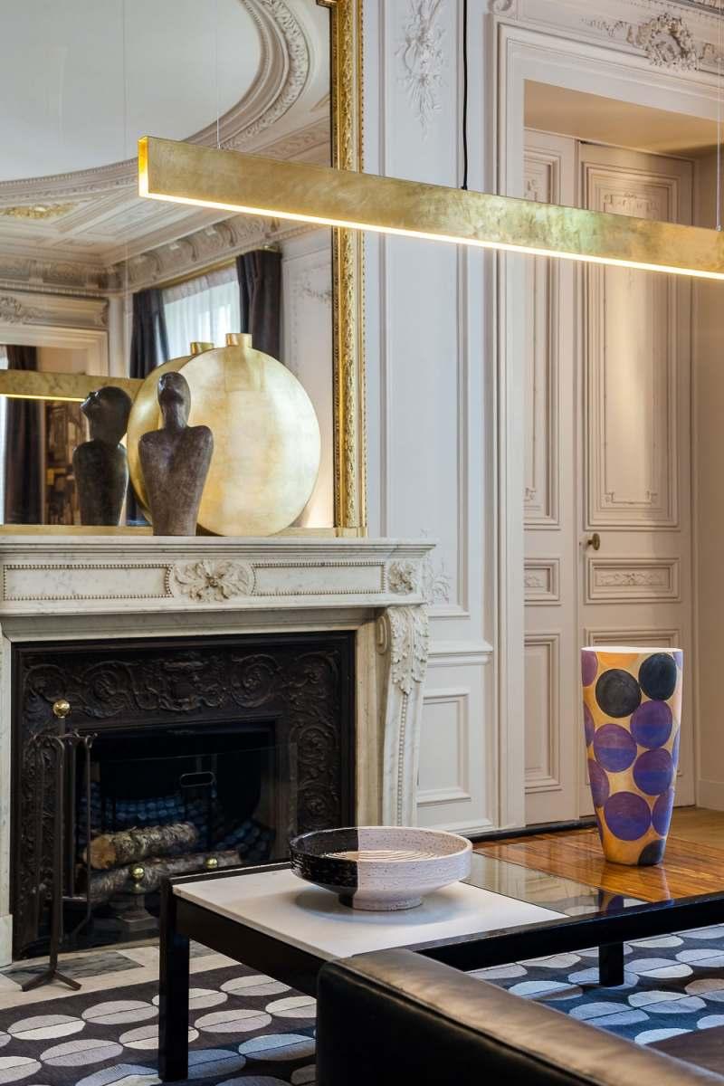 зеркало в стиле барокко камин фото
