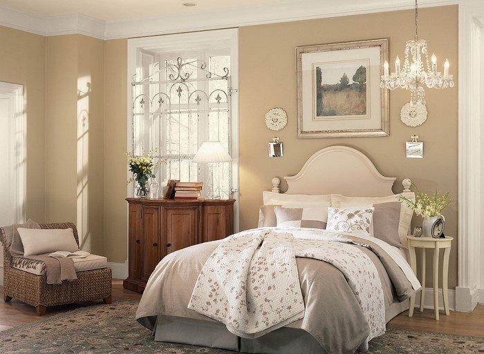 Современные идеи дизайна спальни 2016 фото бежевые светлые оттенки разная мебель