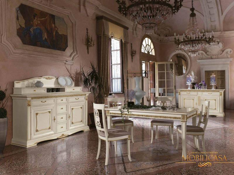 белая гостиная в классическом стиле фото