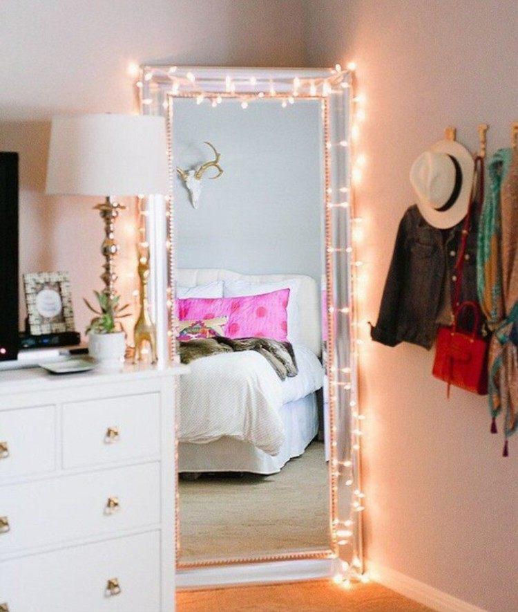 как оформить угол в спальне фото напольное зеркало крючки для одежды