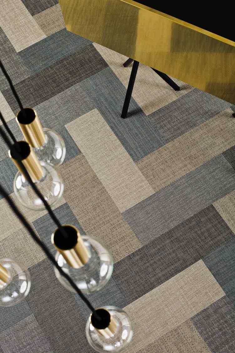 ковролин в интерьере фото палас на пол натуральные оттенки зиг заг