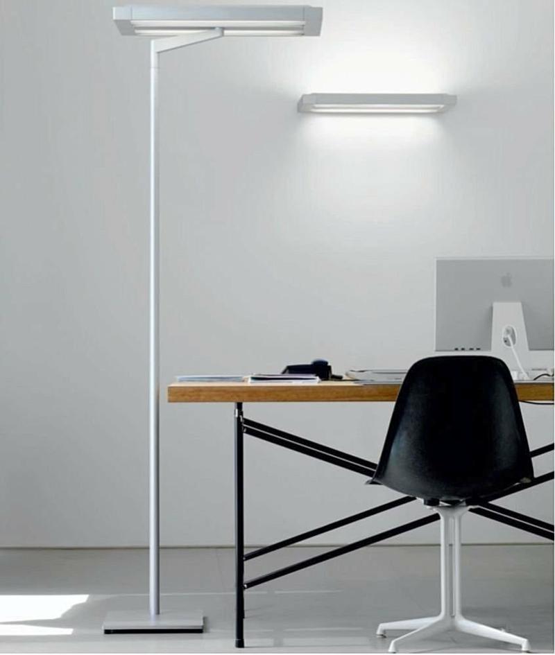 освещение офиса фото домашнее рабочее место яркость света