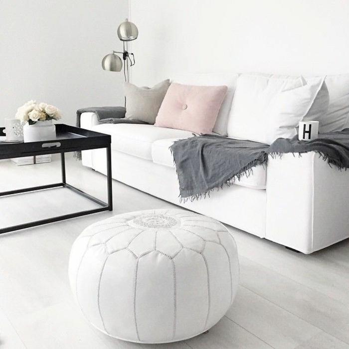 розовый цвет в интерьере фото сочетание с серым белым черным