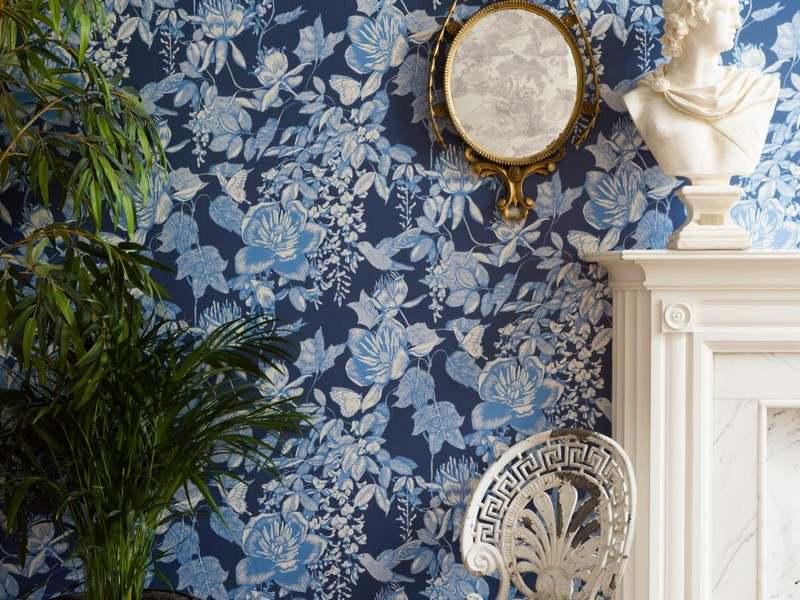 стиль шебби шик в интерьере гостиной фото обои аксессуары растения