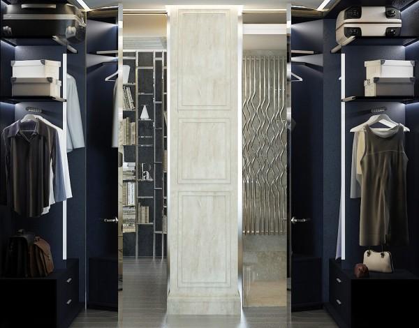стиль современная классика в интерьере фото дизайн гардеробной