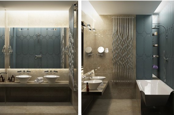 стиль современная классика в интерьере фото дизайн ванной