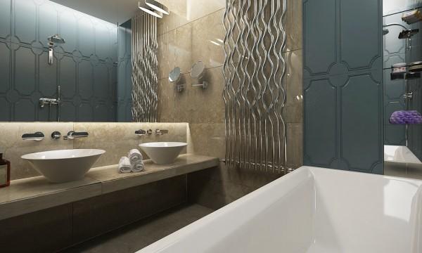 стиль современная классика в интерьере ванной фото