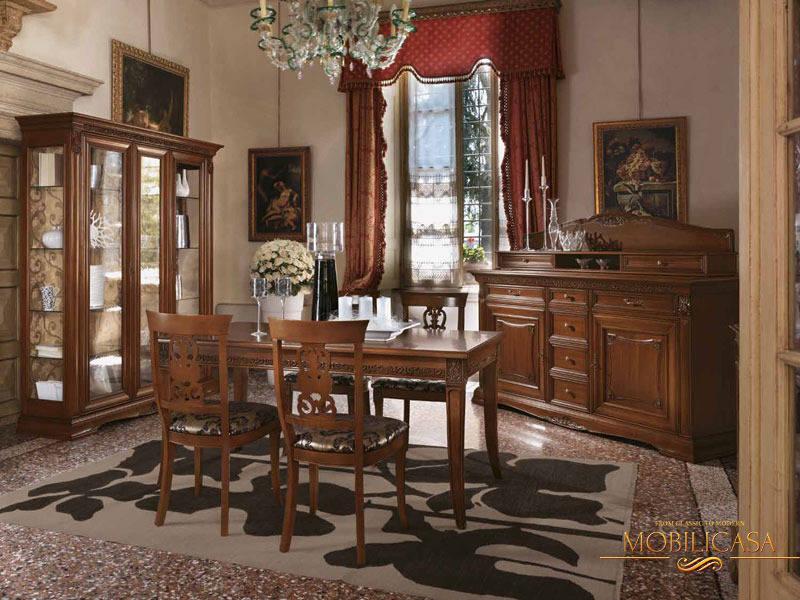 столовая в классическом стиле фото