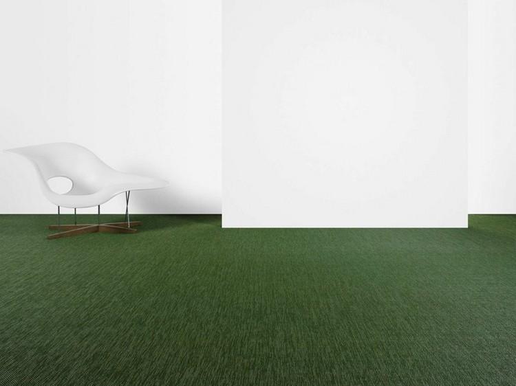 зеленый ковролин в интерьере фото палас на пол
