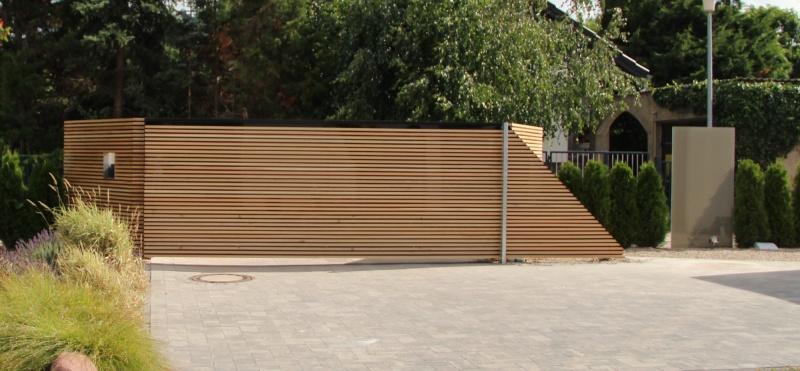 деревянные откатные ворота фото сплошные частный дом