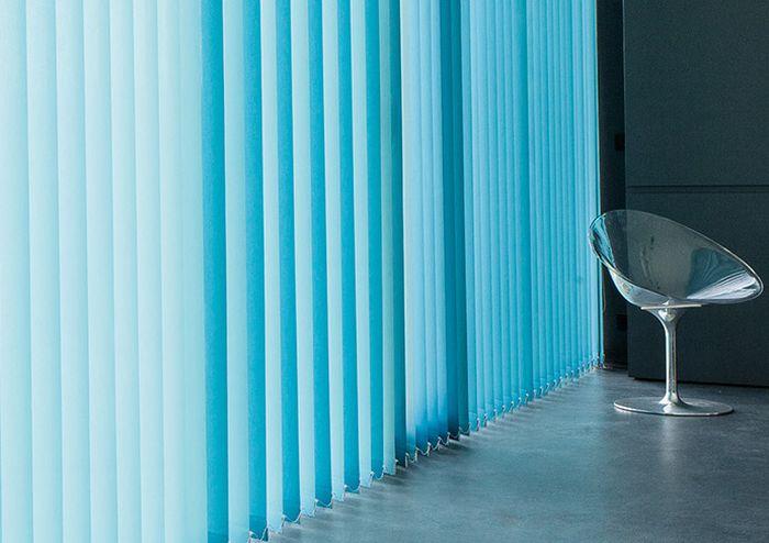 Дизайн вертикальные жалюзи волнистые фото