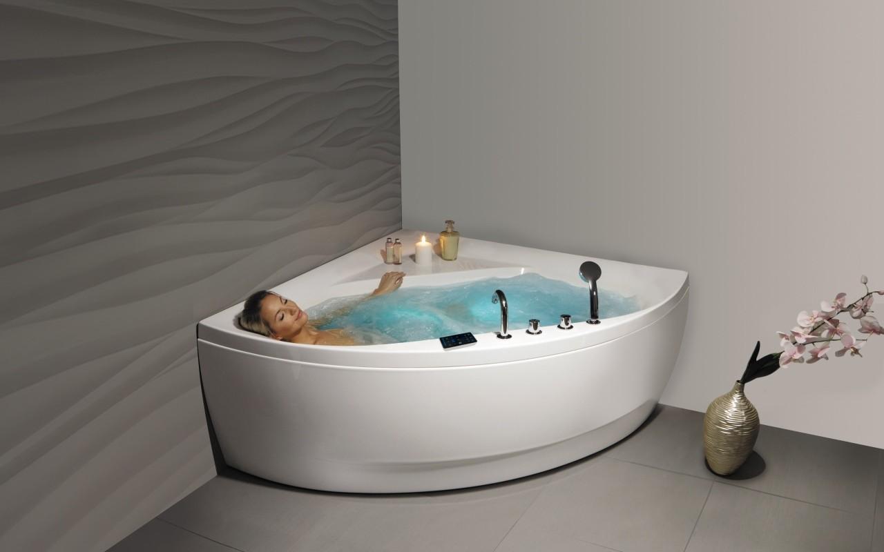 Роскошная ванна джакузи с гидромассажем 5