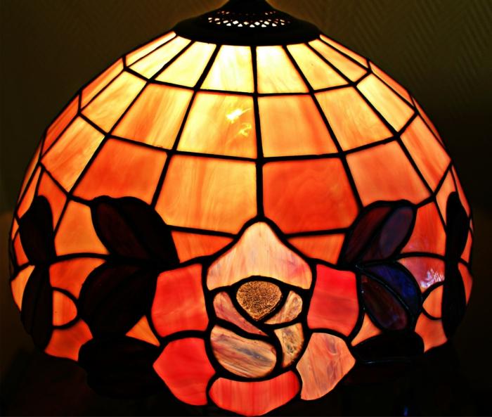 модерн тиффани лампа фото