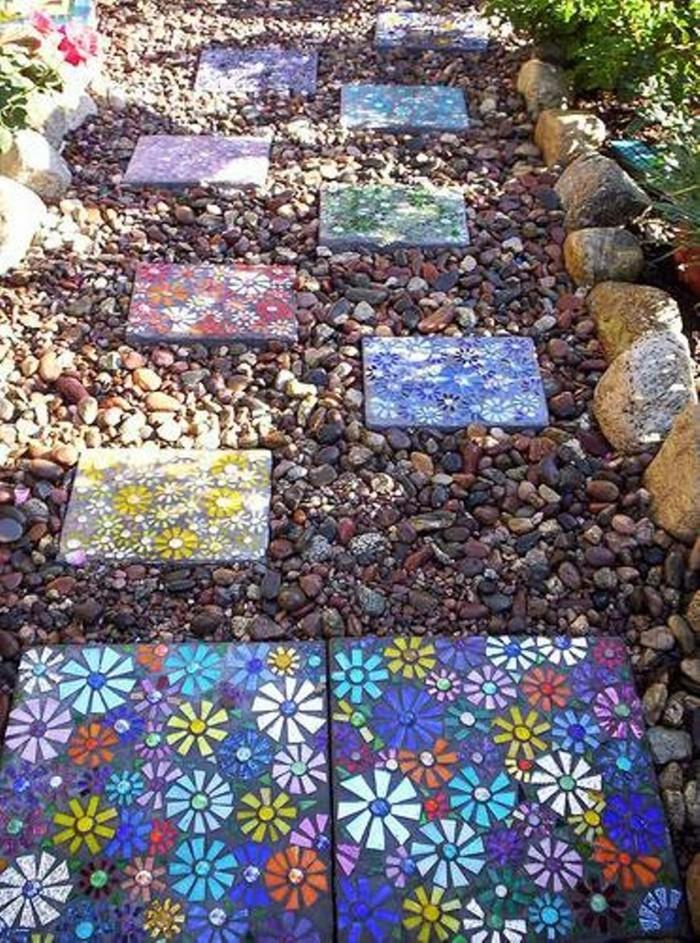 мозаичная бетонная плитка своими руками фото