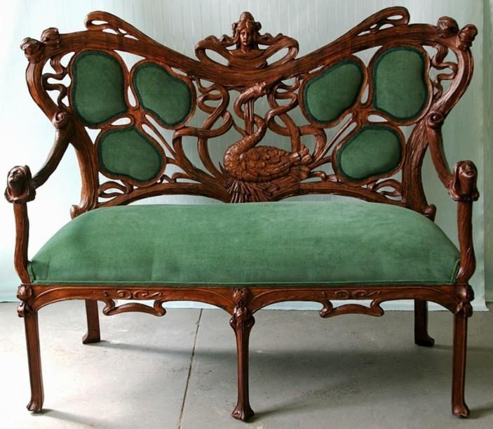 мебель в стиле модерн диван фото