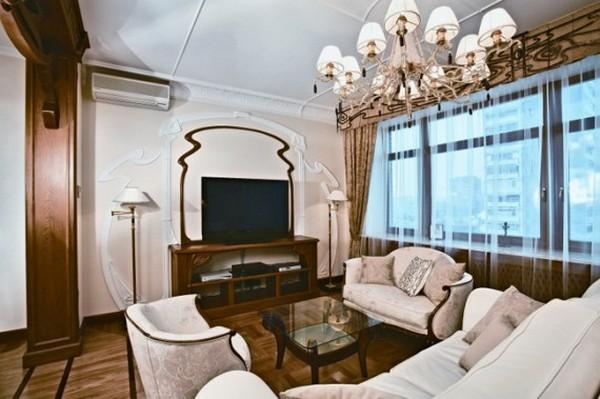 гостиная в стиле модерн фото