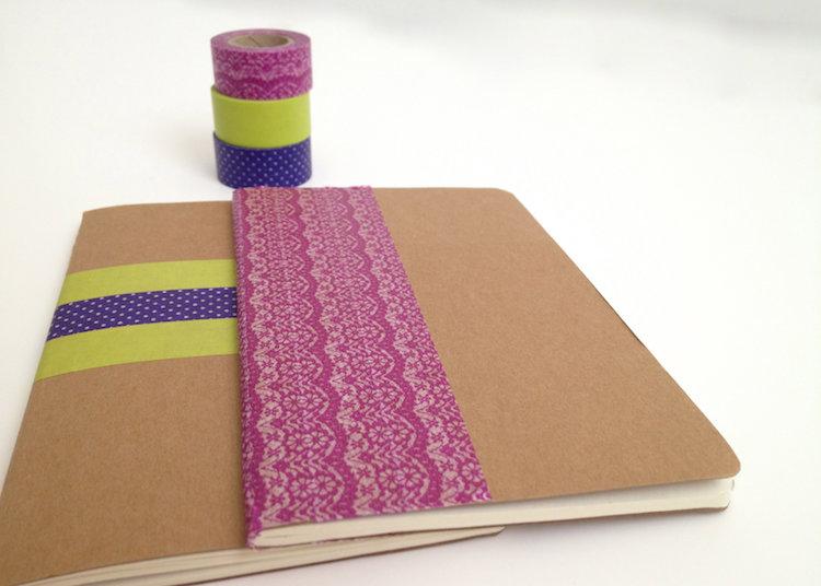 цветной скотч с рисунком washi tape фото