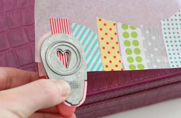 цветной скотч с рисунком washi tape фото (23)