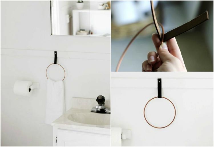 держатель для полотенец в ванную своими руками (11)