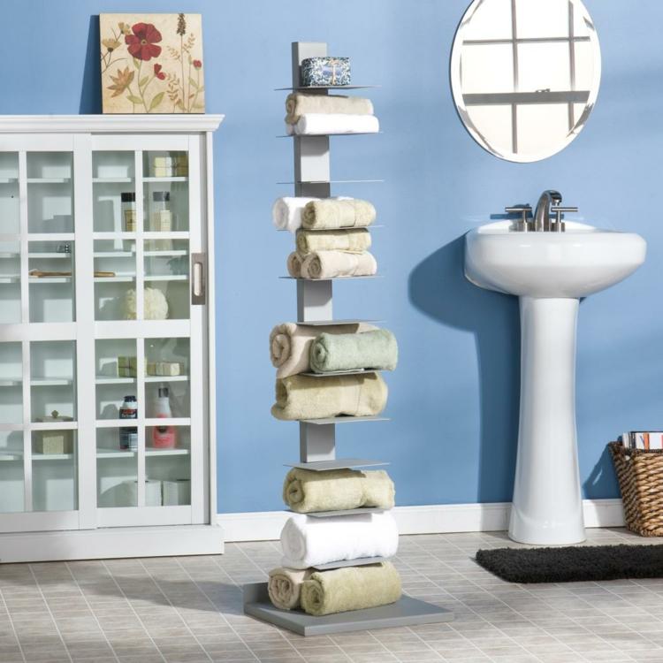 держатель для полотенец в ванную своими руками (3)