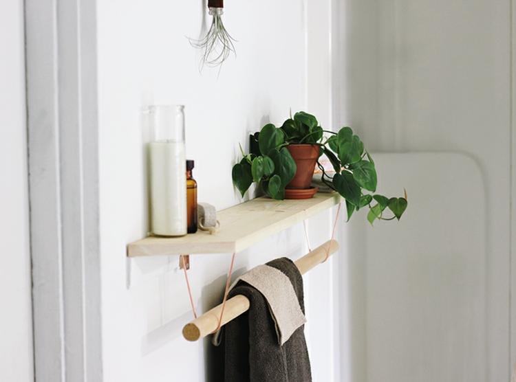 держатель для полотенец в ванную своими руками (6)