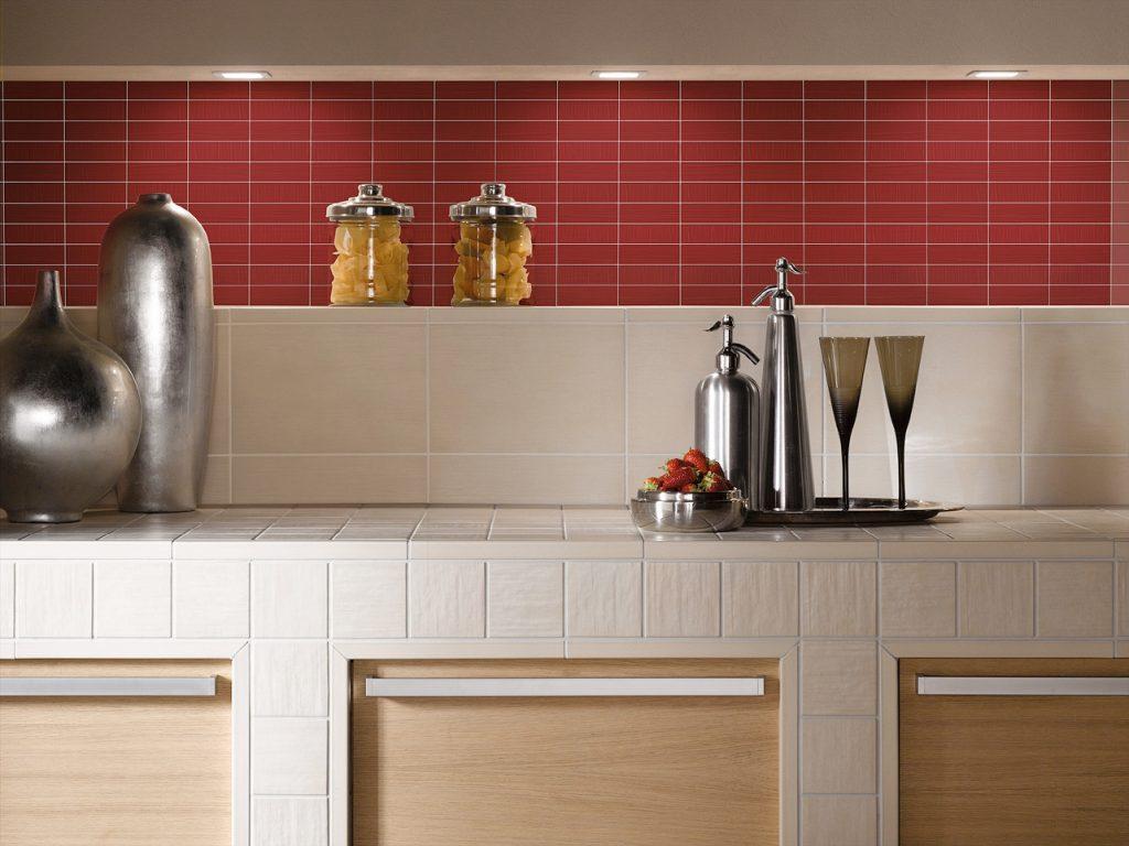 керамическая плитка на кухне