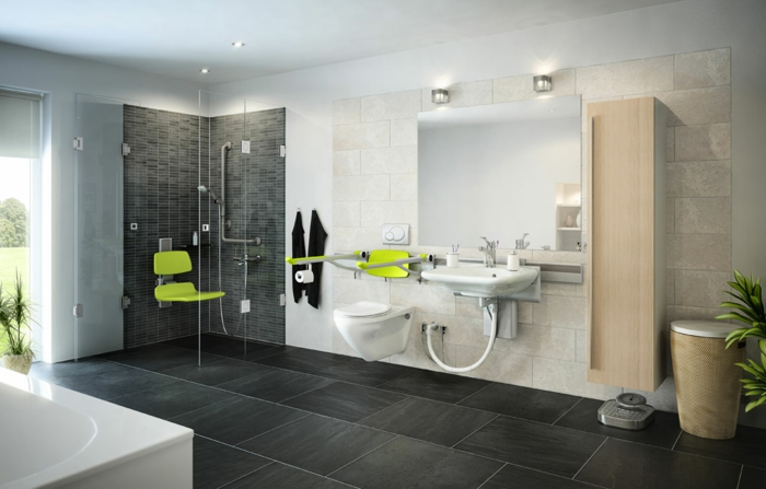 ванная комната по фен шуй фото