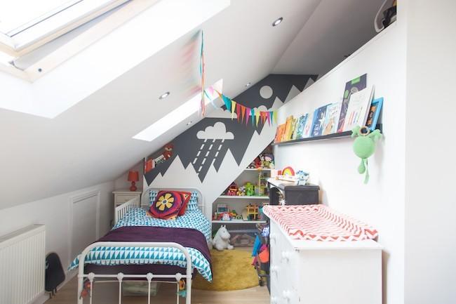 маленькая детская комната фото