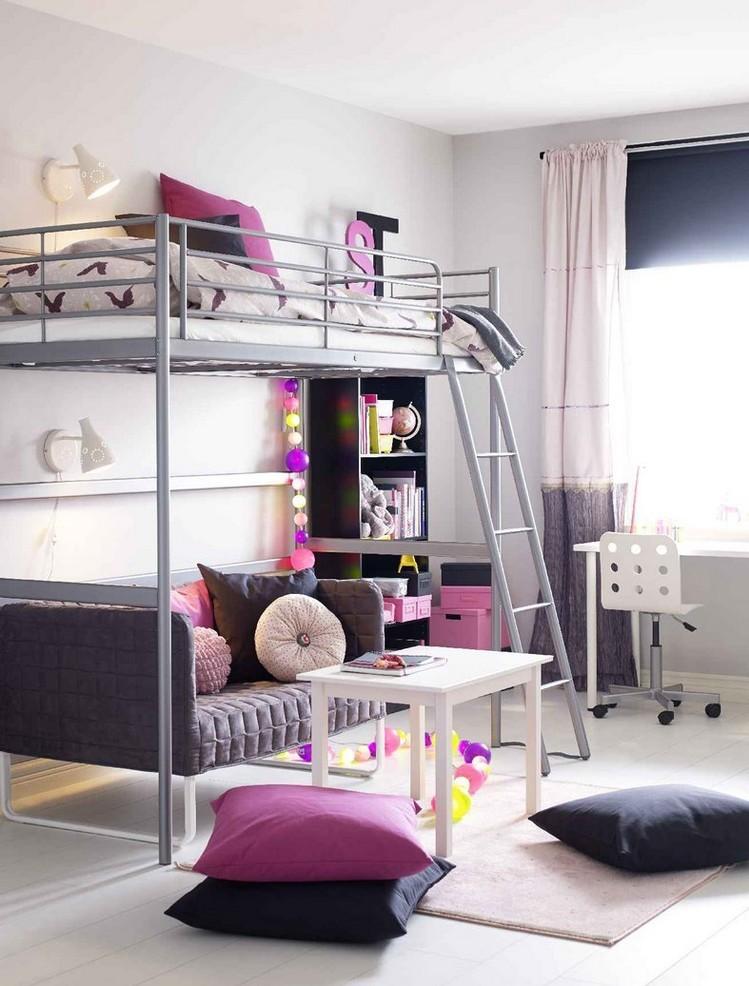 современный дизайн комнаты подростка