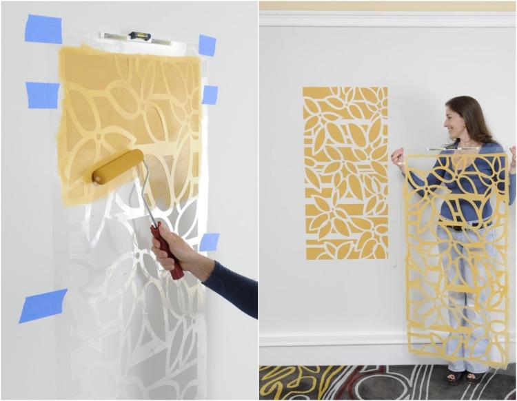 оригинальные идеи декора стен своими руками фото