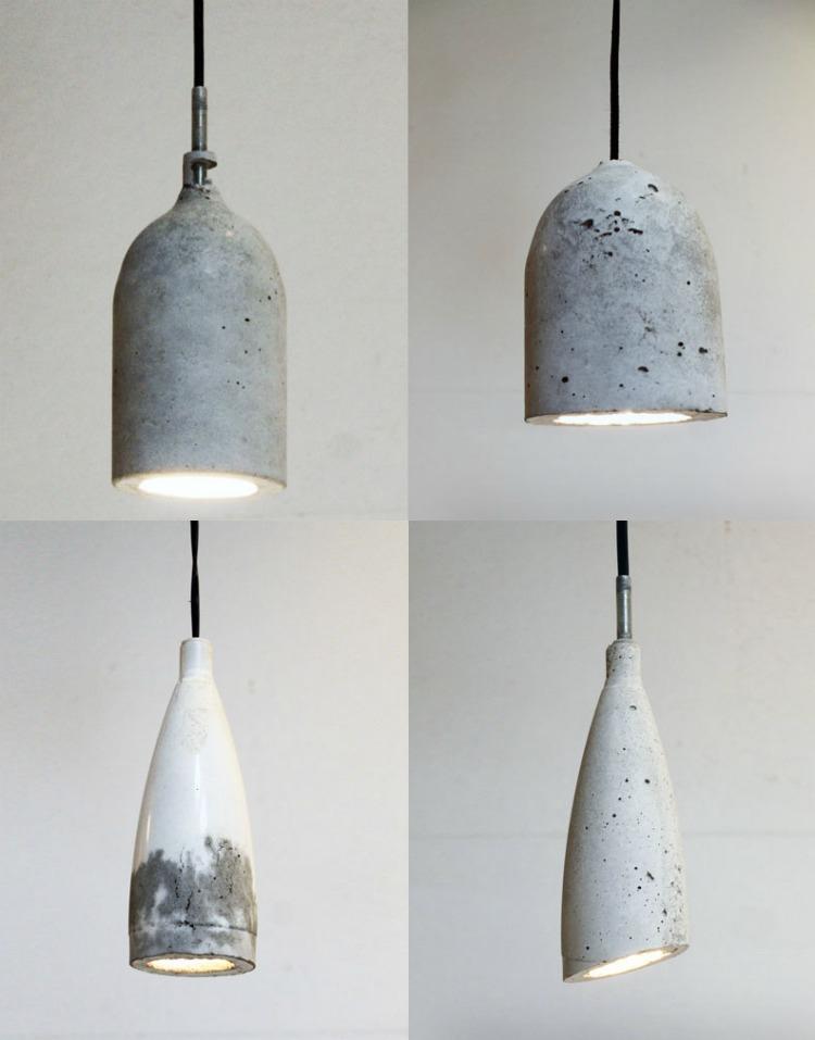 лампочка бетон