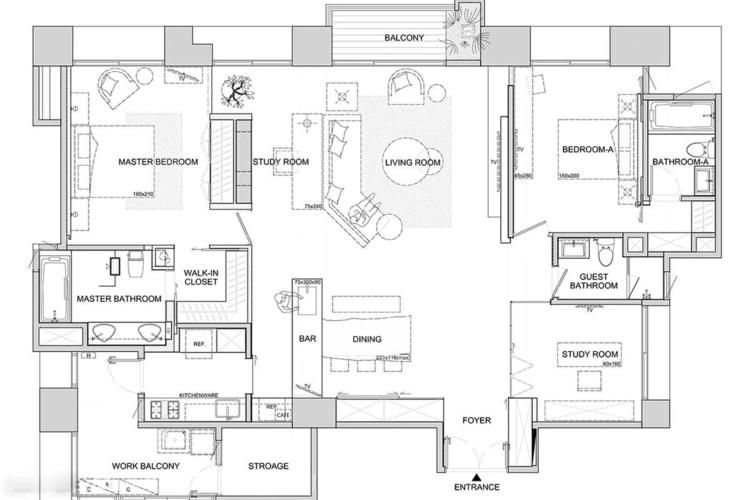 2 квартиры с современным дизайном в серых тонах фото