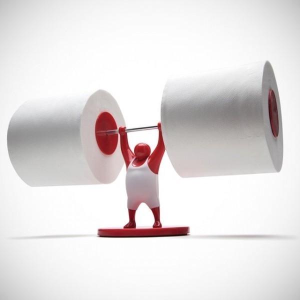 прикольный держатель для туалетной бумаги своими руками фото (11)