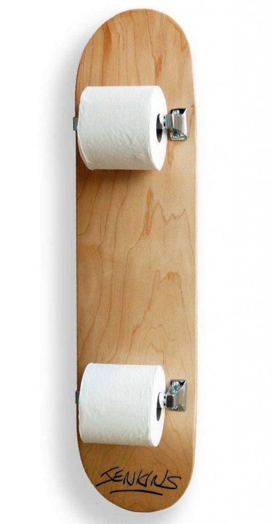 держатель для туалетной бумаги своими руками фото (3)