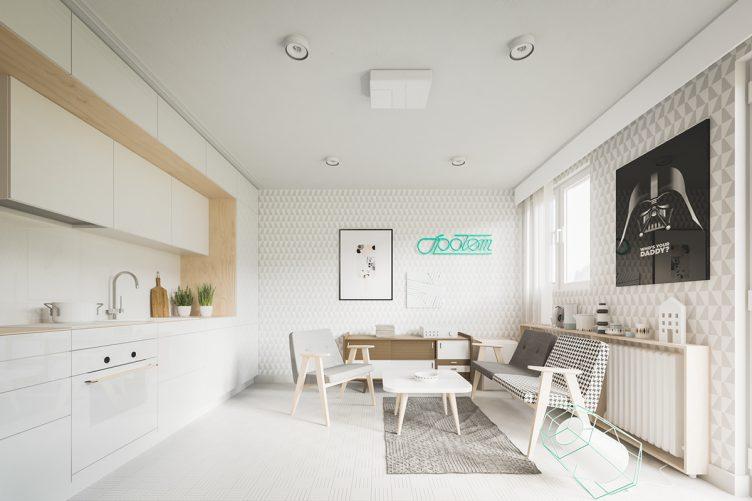 дизайн квартиры 20 кв м