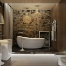 дизайнерская ванная комната фото