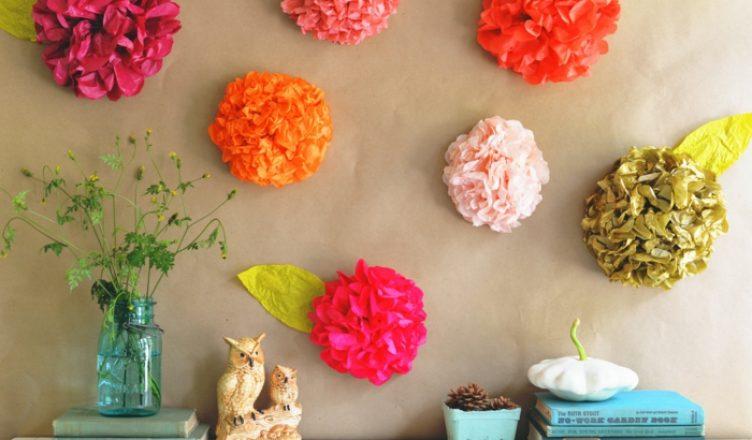 как сделать цветы из салфеток своими руками поэтапно фото