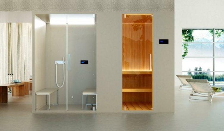 паровой душ мини сауна для квартиры фото