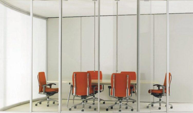 стеклянные перегородки в офисе фото
