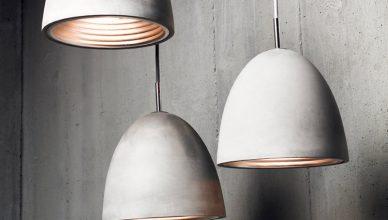 бетонные лампы своими руками в домашних условиях