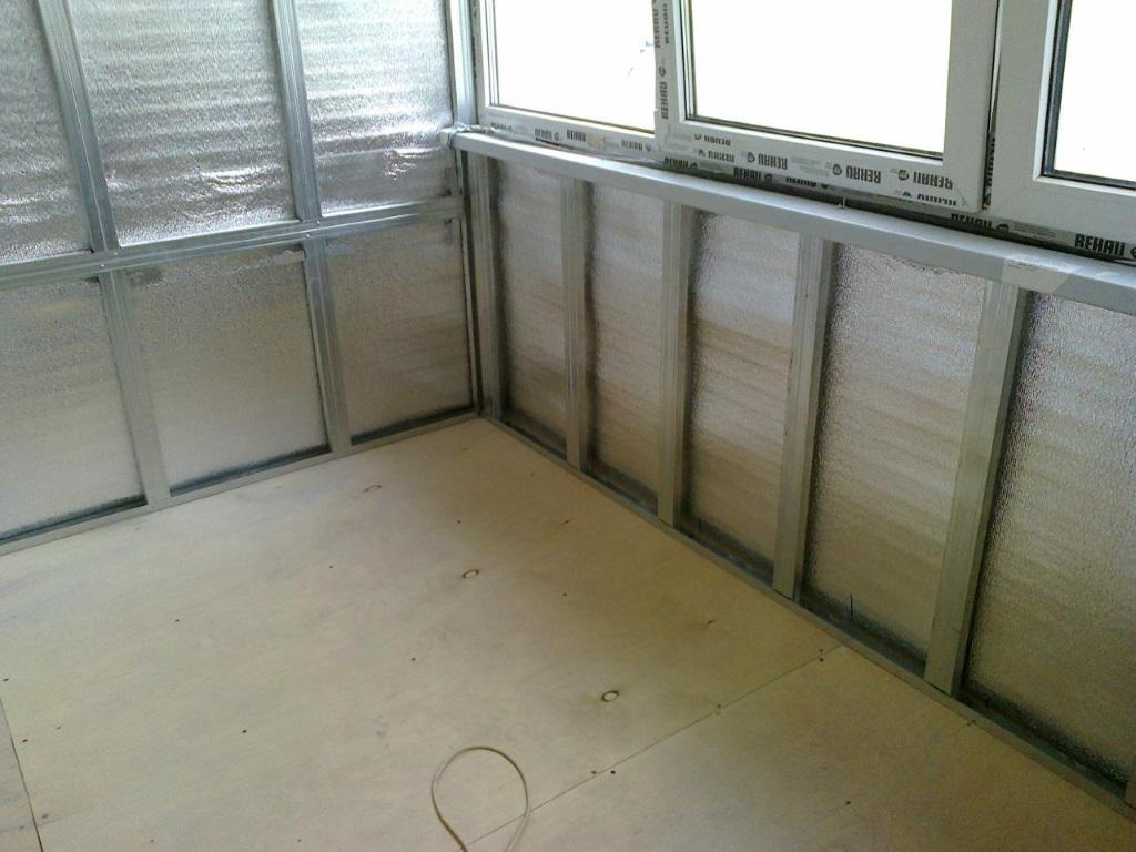 ремонт балкона фото пошаговое 2